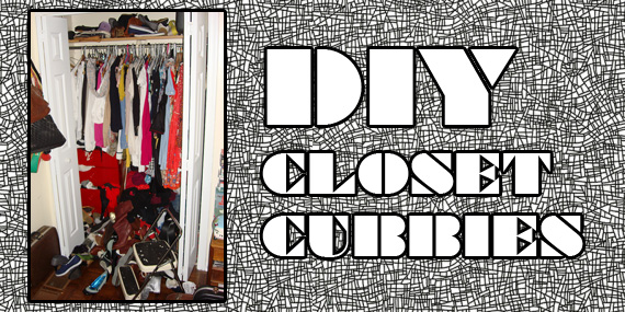 DIY: Shoe Storage For Yr Closet