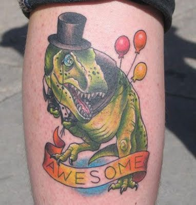 And finally, because we still miss Libby: top_hat_dino_tattoo