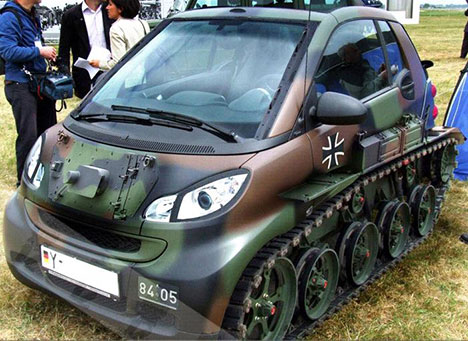 Smart Car Tank Byt Brightest Young Things