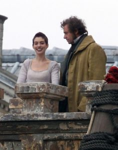 "Exclusive: Anne Hathaway Looks Thin On Set Of ""Les Miserables"""