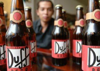 """BGH verhandelt Lizenzstreit zu """"Duff""""-Bier"""