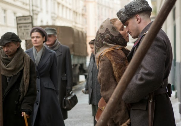 NOOMI RAPACE and TOM HARDY star in CHILD 44