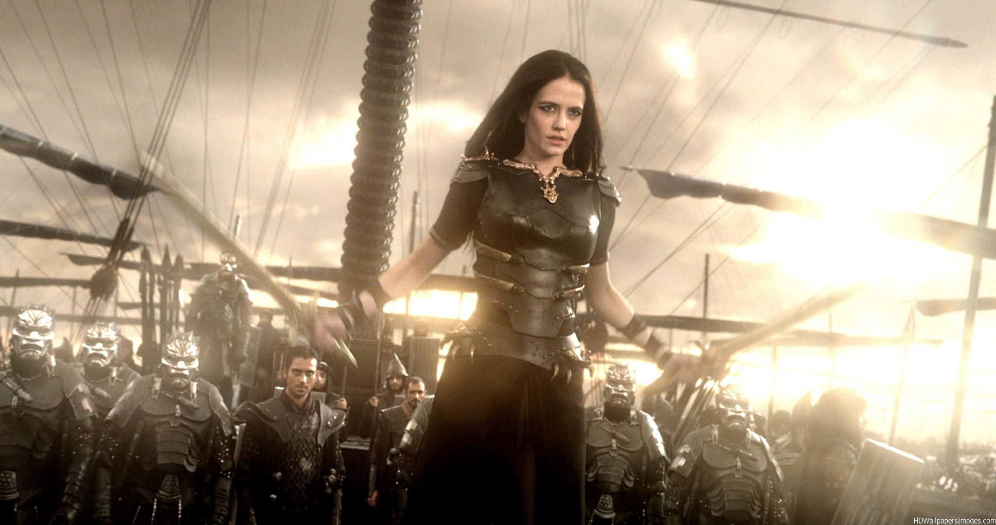 Eva-Green-300-Rise-Of-An-Empire-HD-Images ... Eva Green Review