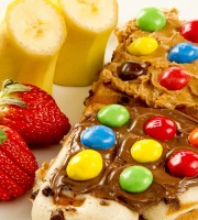 waffles are sweet