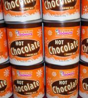 wall of hot chocolate