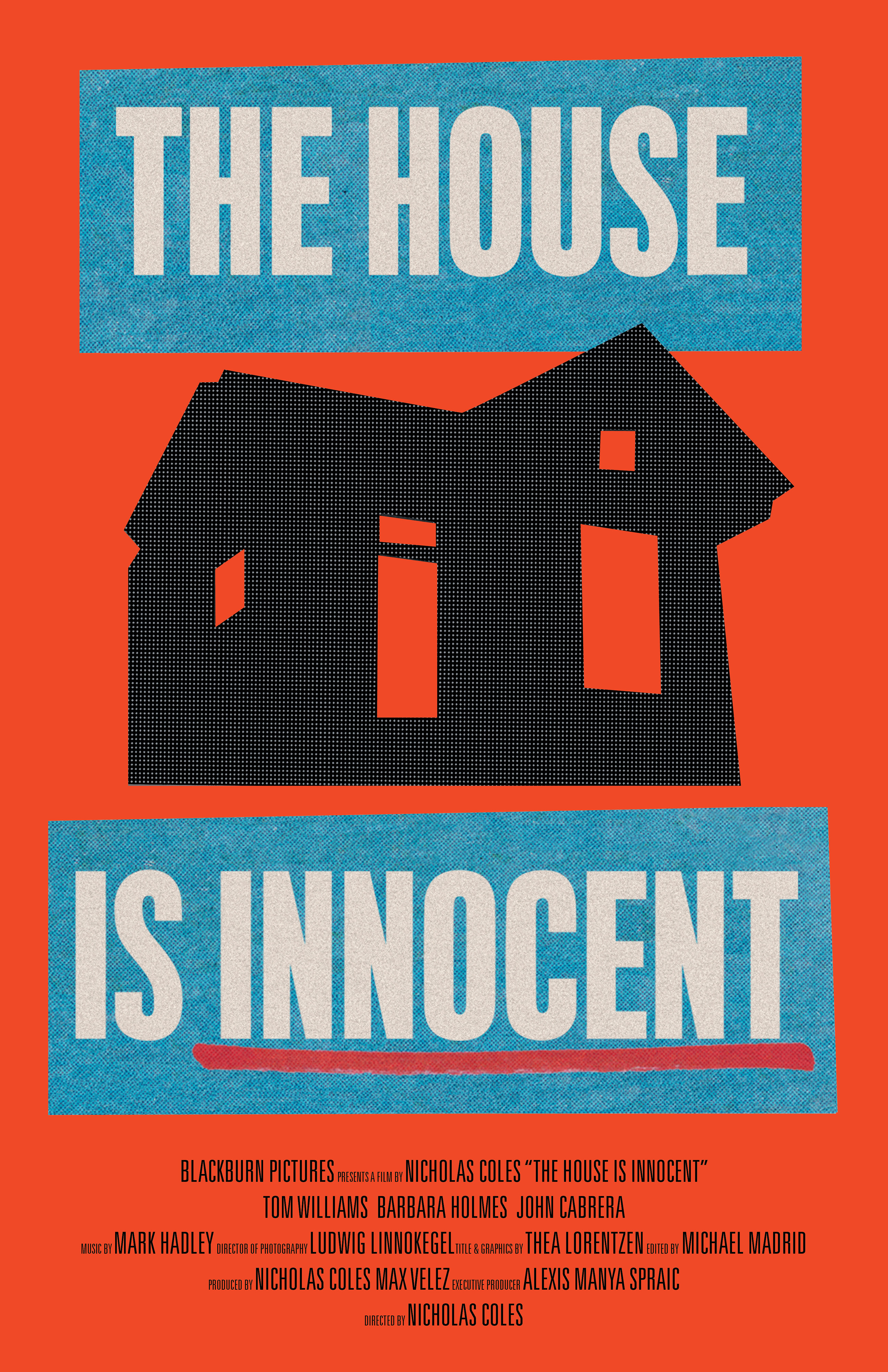 The House is Innocent_poster