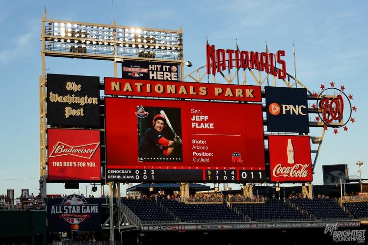 Congressional Baseball Game Photos